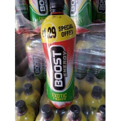 Boost Exotic Fruits Energy Drink 1 Litre Bottles