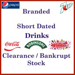 Short Dated Branded Drink - Coke, Pepsi, Fanta, Vimto, Robinsons etc