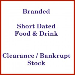 Clearance Stock Short Dated Food and Drinks all low prices