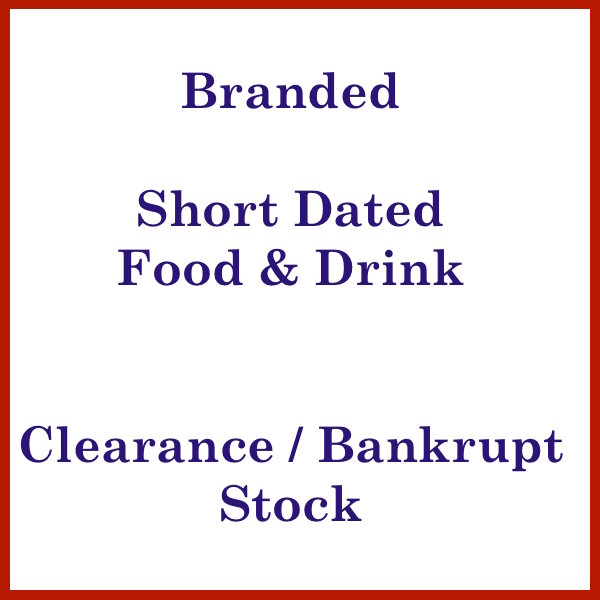 food short dated drinks clearance low sales prices