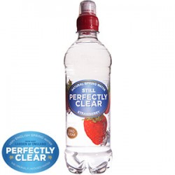 Perfectly Clear Strawberry Flavoured Spring Water 500ml