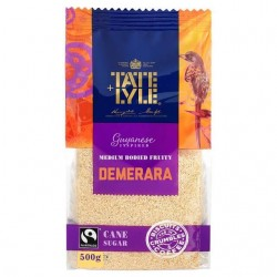 Tate Lyle Demerara Sugar 500g Bag